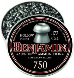 Benjamin 14020 .177-Caliber Hollow Point Small Game Hunting Pellets